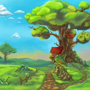 Дерево в детскую 13018