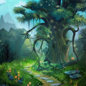 Дерево в детскую 15510