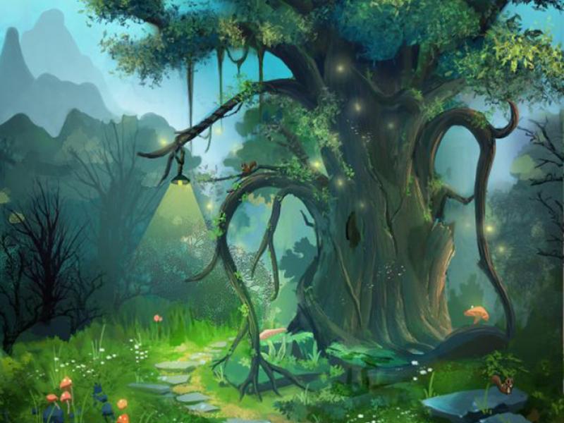 Дерево в детскую 15510 6883