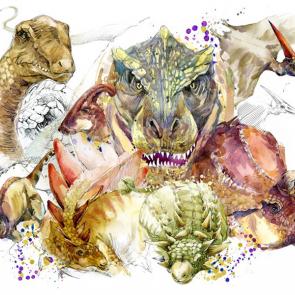Динозавры 5584
