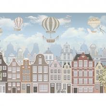 Домики с воздушными шарами