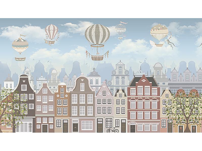 Домики с воздушными шарами 1746