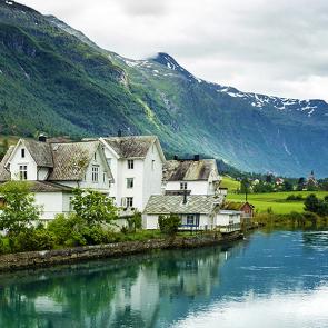 Домики в Норвегии