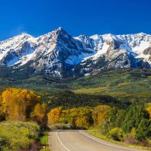 Дорога в Колорадо