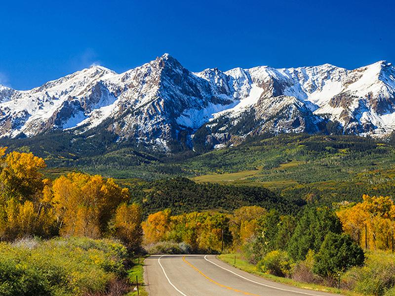 Дорога в Колорадо 1745