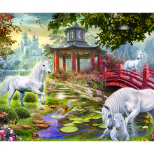 Единороги в саду