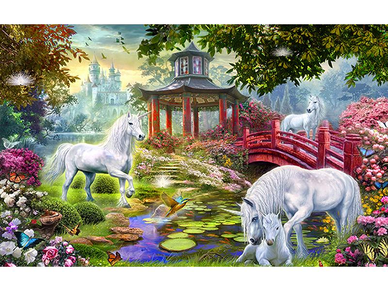 Единороги в саду 2422