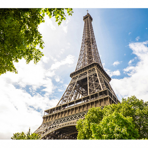Фотообои эйфелева башня 2