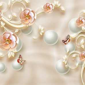 Фарфоровые розы
