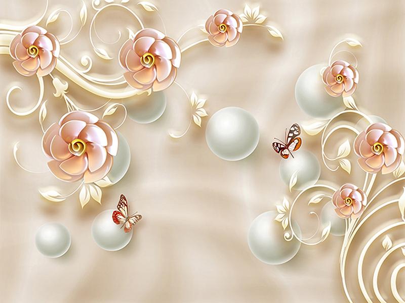 Фарфоровые розы 1072
