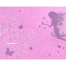 Фея на розовом