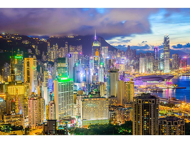Гавань Гонконга 1819