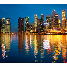 Горизонт Сингапура