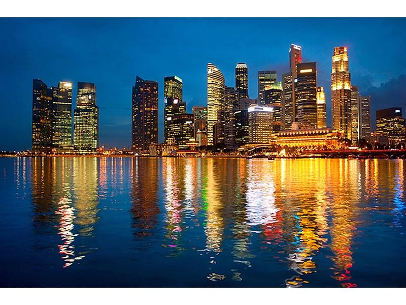 Горизонт Сингапура 1805