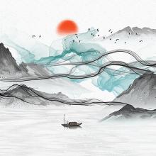 Горное озеро Аква