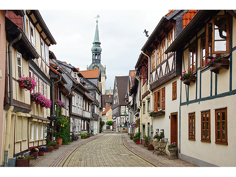 Город в Германии 1795