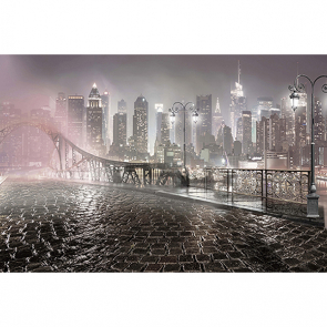 Город в тумане