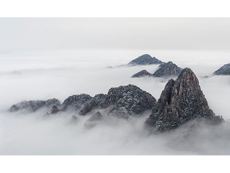 Горы над облаками 1781