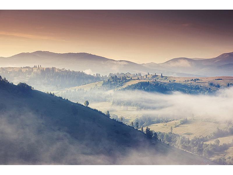 Горы в тумане 1782