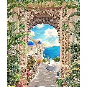 Греция через арку