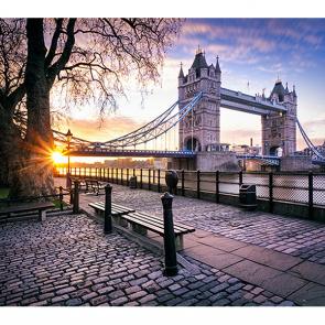 Холодное утро в Лондоне