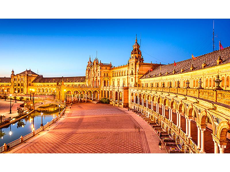 Испанская площадь 1667