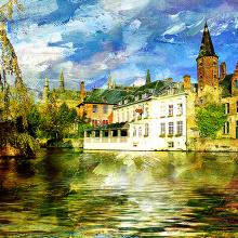 Канал в Бельгии