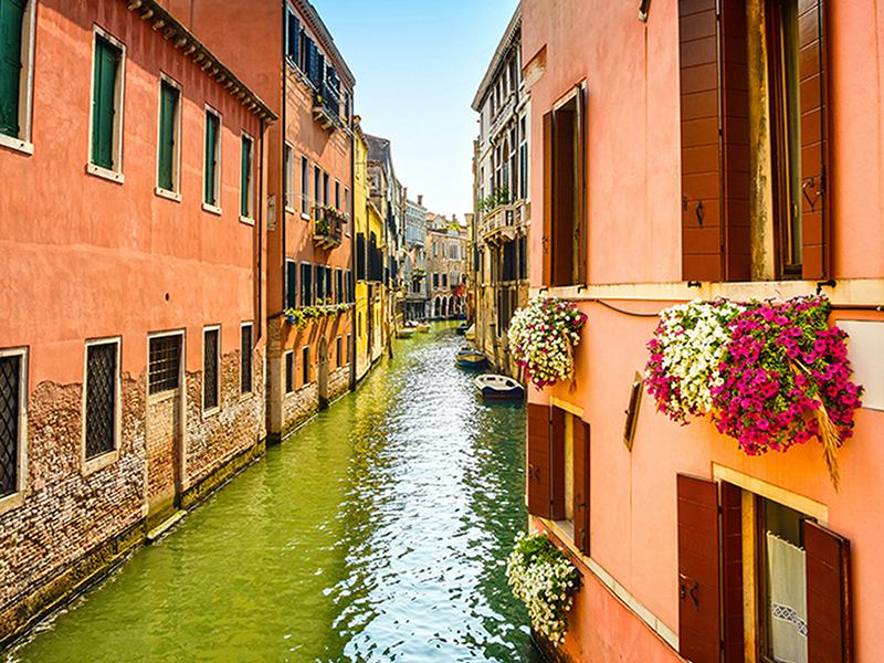 Канал в Венеции 1656