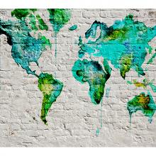 Карта мира лофт