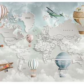 Карта мира  английская