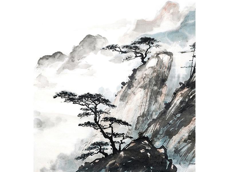 Китайские горы 2520