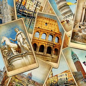 Коллаж Италии