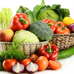 Корзина с овощами 79508599