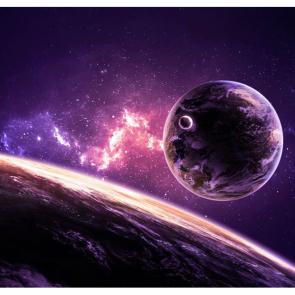 Сиреневый космос