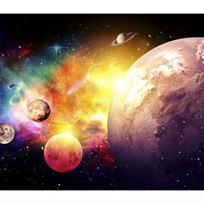 Яркий космос