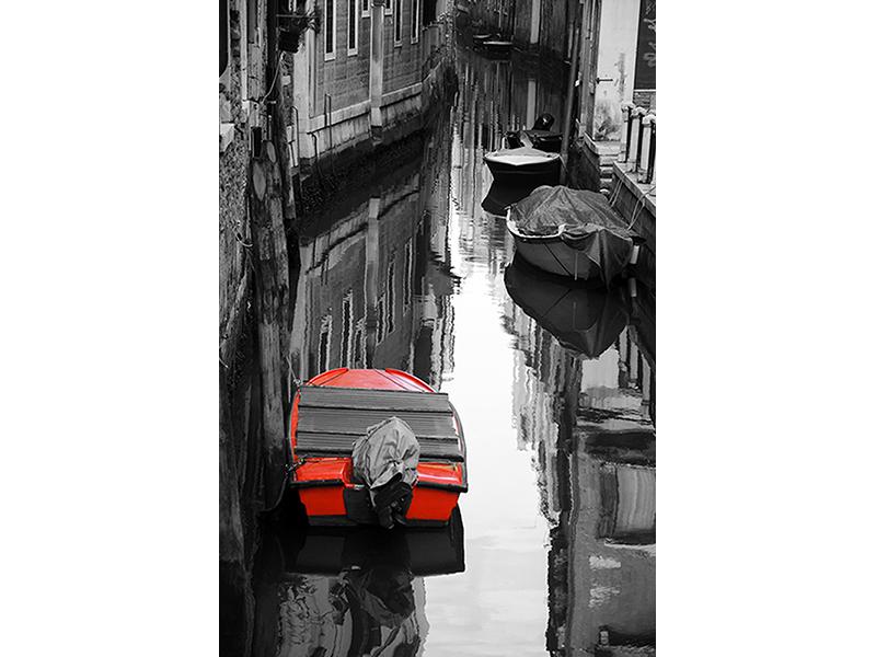 Красная лодка 1620