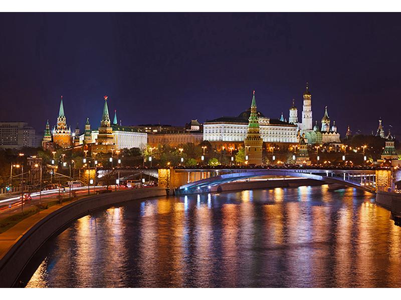 Кремль ночью 1609