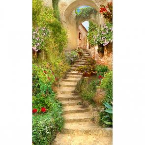 Лестница в улочке