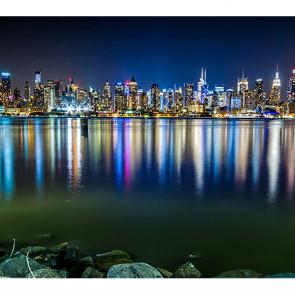 Манхеттен в отражении