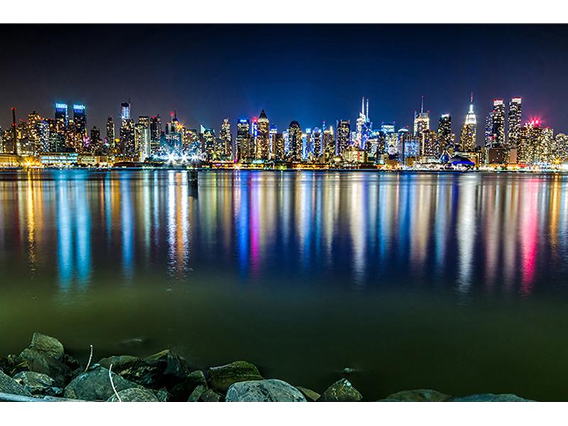 Манхеттен в отражении 1545