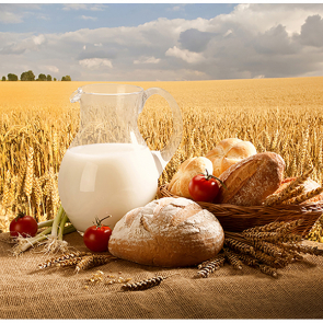 Молоко и хлеб 58954591