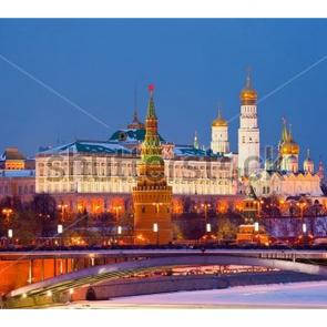 Москва вечером 2
