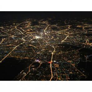 Ночью над Москвой