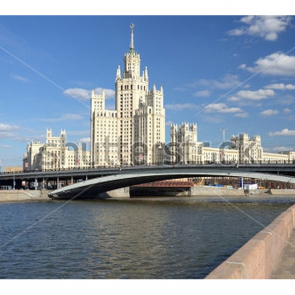 Москва днем
