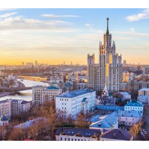 Вечером над Москвой