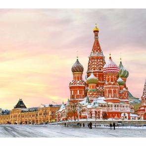 Покровский собор зимой