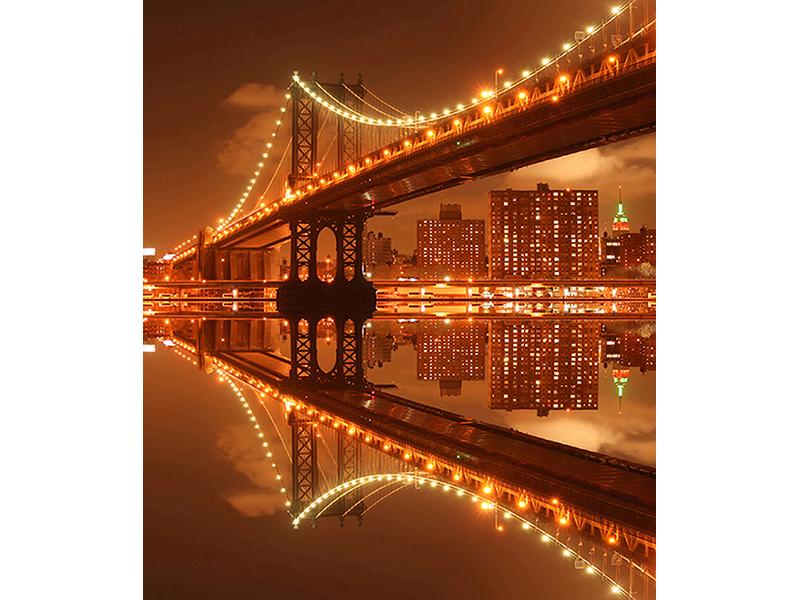Мост ночью 1526