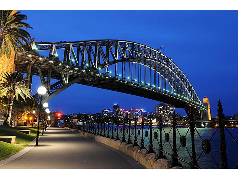 Мост в Сиднее 1528