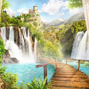 Мостик к водопаду
