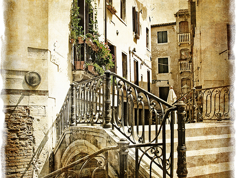 Мостик в Венеции 2 1519